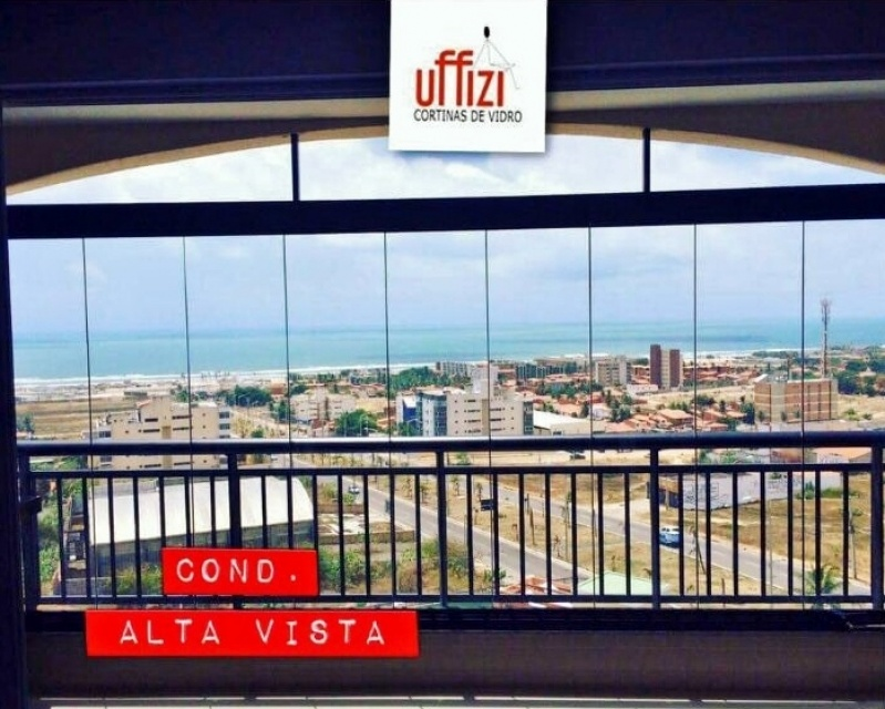 Empresa de Cortina de Vidro Deslizante para Porta Fortaleza - Cortina de Vidro Temperado Deslizante