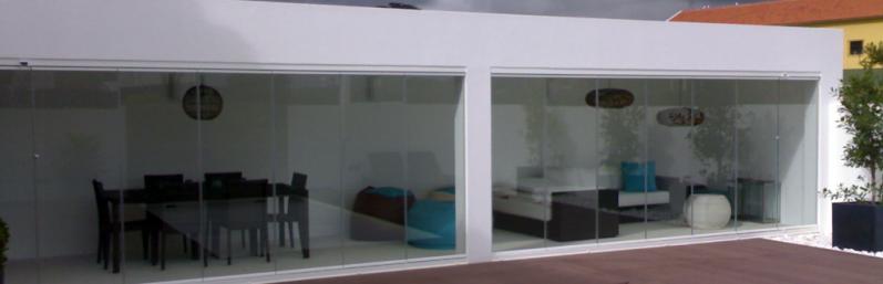 Empresa de Sacada com Vidro Fortaleza - Sacada com Vidro Retrátil