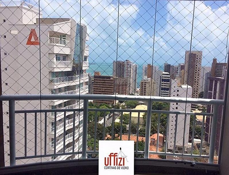 Empresa de Varandas com Vidro Temperado Fortaleza - Sacada com Vidro Retrátil