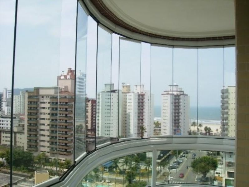 Fechamento de Varanda Preço Onde Encontrar em Fortaleza - Varanda de Vidro Temperado