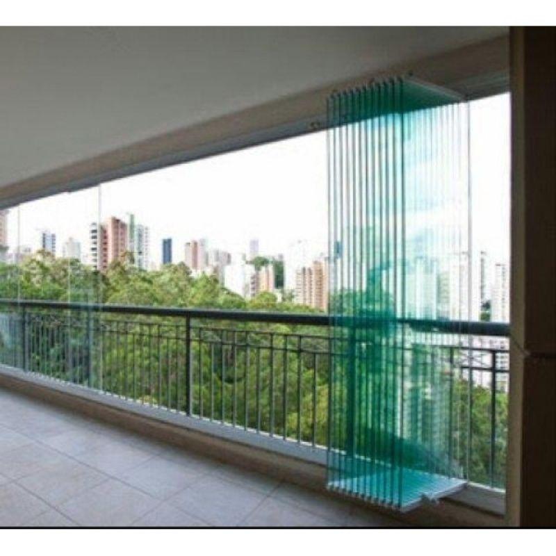 Fechamento em Vidro de Varanda Preço Ceará - Varanda de Vidro Temperado