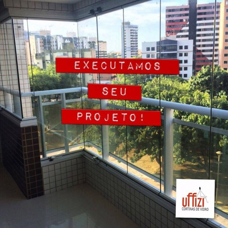 Fechamento para Varandas com Vidro na Aquiraz - Varanda de Vidro Temperado