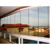 barato cortina em parede de vidro Ceará