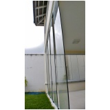 cortina de vidro automática preço Caucaia
