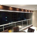 cortina de vidro deslizante preço em Fortaleza