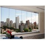 cortina de vidro em l preço Ceará