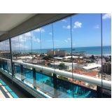 cortina de vidro no CE em Fortaleza