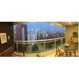cortina de vidro para varanda preço na Caucaia