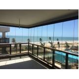cortina em vidro deslizante para apartamento preço Ceará