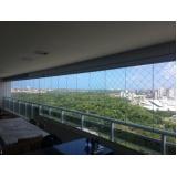 cortinas d'água em vidro Ceará