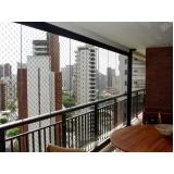 cortinas de vidro curva Ceará