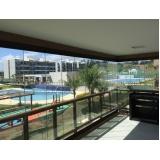 cortinas de vidro deslizante para apartamento preço Ceará