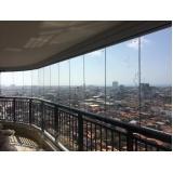cortinas de vidro deslizante sob medida Ceará