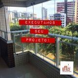 fechamento para varandas com vidro em Fortaleza
