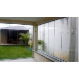 orçamento de cortina de vidro com trilho embutido Fortaleza