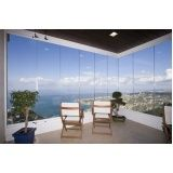 varanda de vidro temperado em Fortaleza
