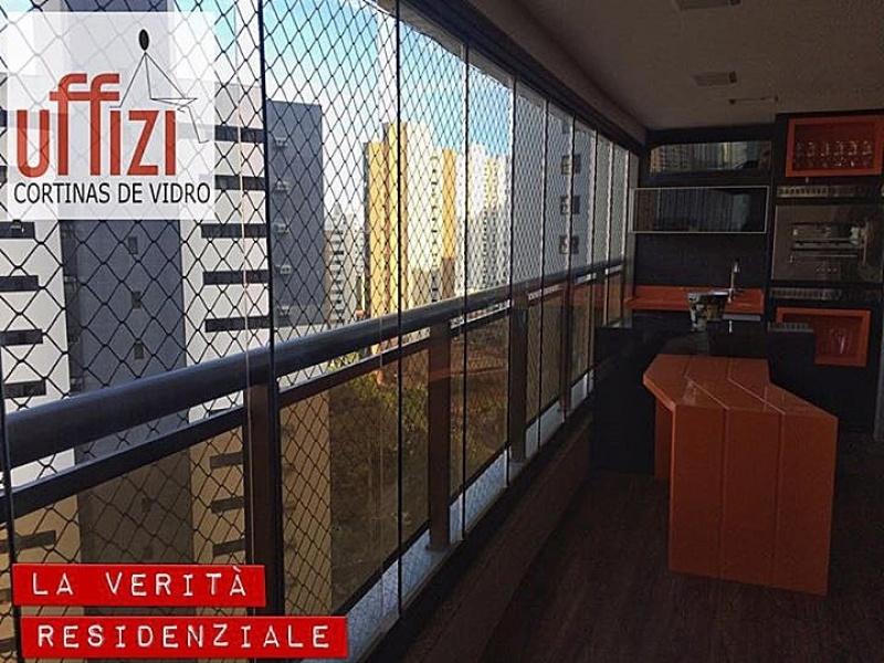 Varandas com Vidro Refletivo Preço Fortaleza - Sacada com Vidro Retrátil