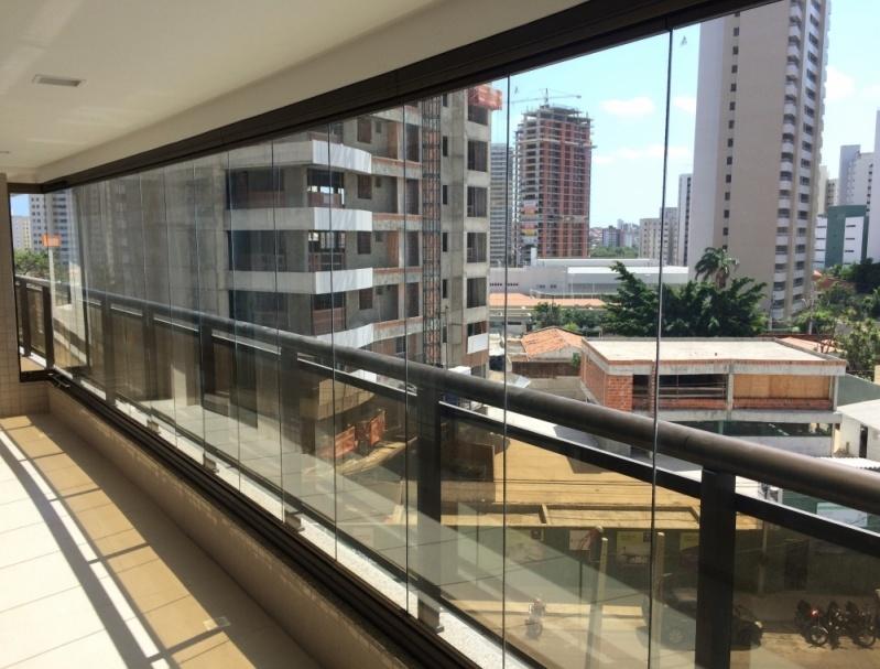 Cortina de Vidro Acústica Preço Fortaleza - Cortina de Vidro Curva