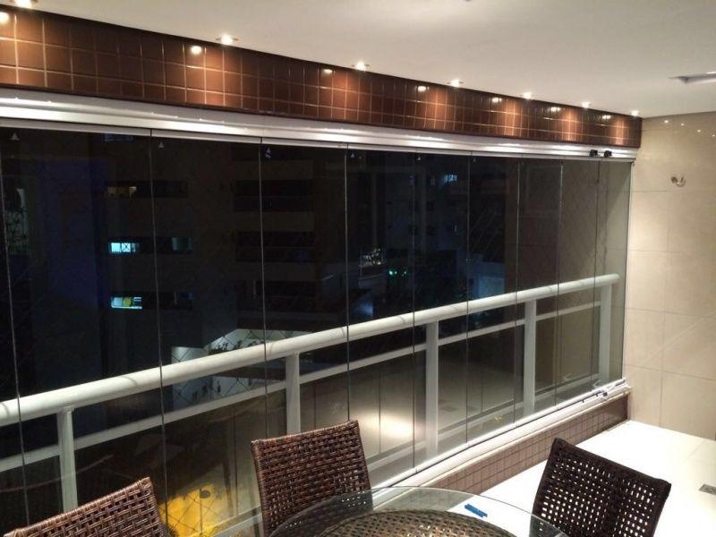 Cortina de Vidro Deslizante Preço em Fortaleza - Instalação de Cortina de Vidro