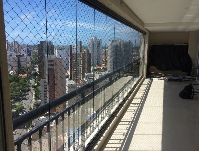Cortina de Vidro para Apartamento Ceará - Instalação de Cortina de Vidro