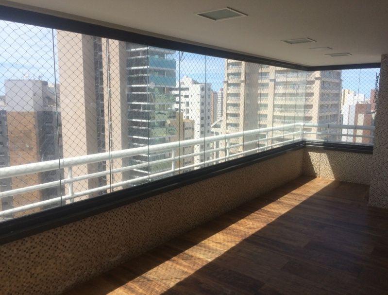 Cortina de Vidro para Fechamento de Varanda Preço em Fortaleza - Instalação de Cortina de Vidro