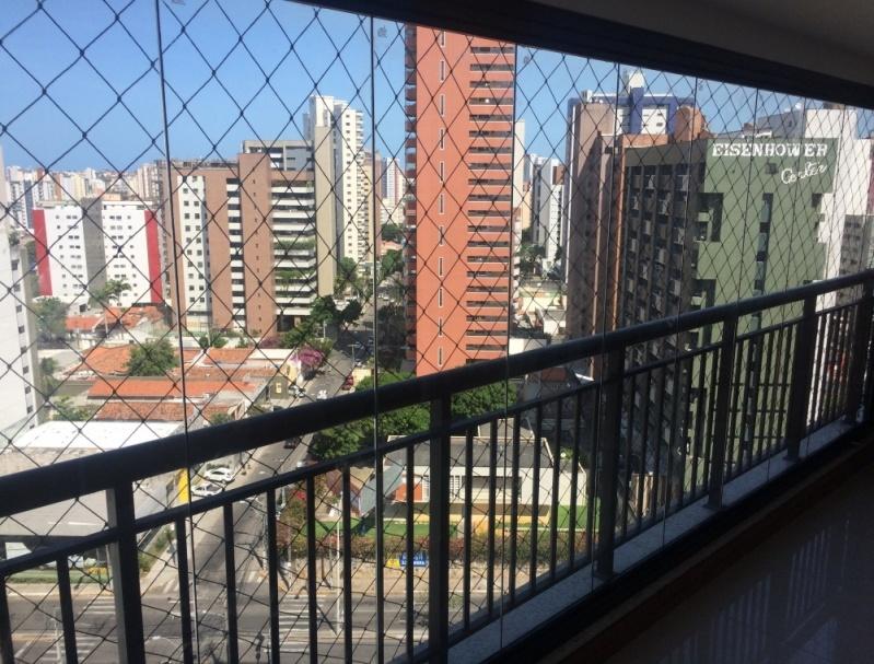 Cortina de Vidro Varanda Ceará - Cortina de Vidro em Apartamento
