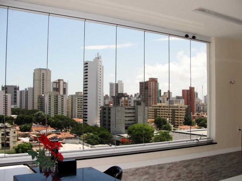 Cortina em Parede de Vidro Preço Fortaleza - Cortina de Vidro em Apartamento