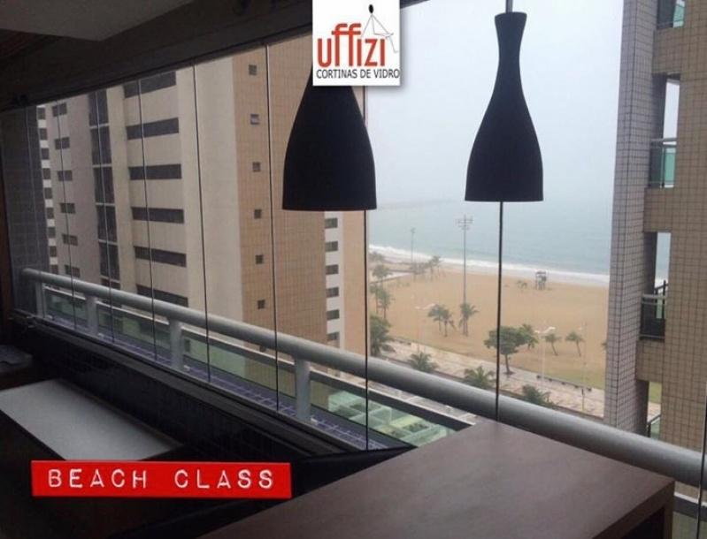 Cortinas de Vidro Instalação Ceará - Cortina de Vidro em Apartamento