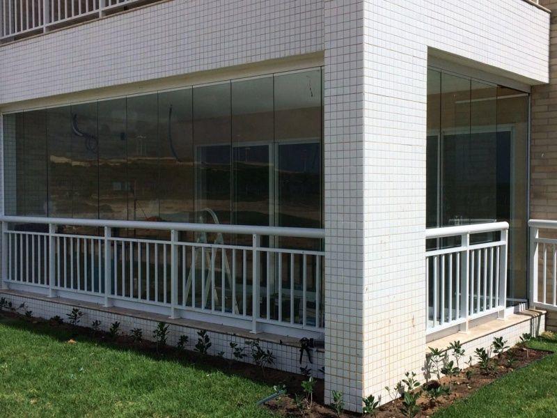 Cortinas de Vidro para Apartamentos em Fortaleza - Instalação de Cortina de Vidro