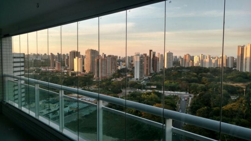 Cortinas em Vidro Deslizante para Apartamento Ceará - Cortinas de Vidro Deslizante para Banheiro