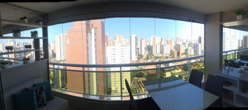 Empresa de Cortinas de Vidro Deslizante Painel Ceará - Cortina em Vidro Deslizante