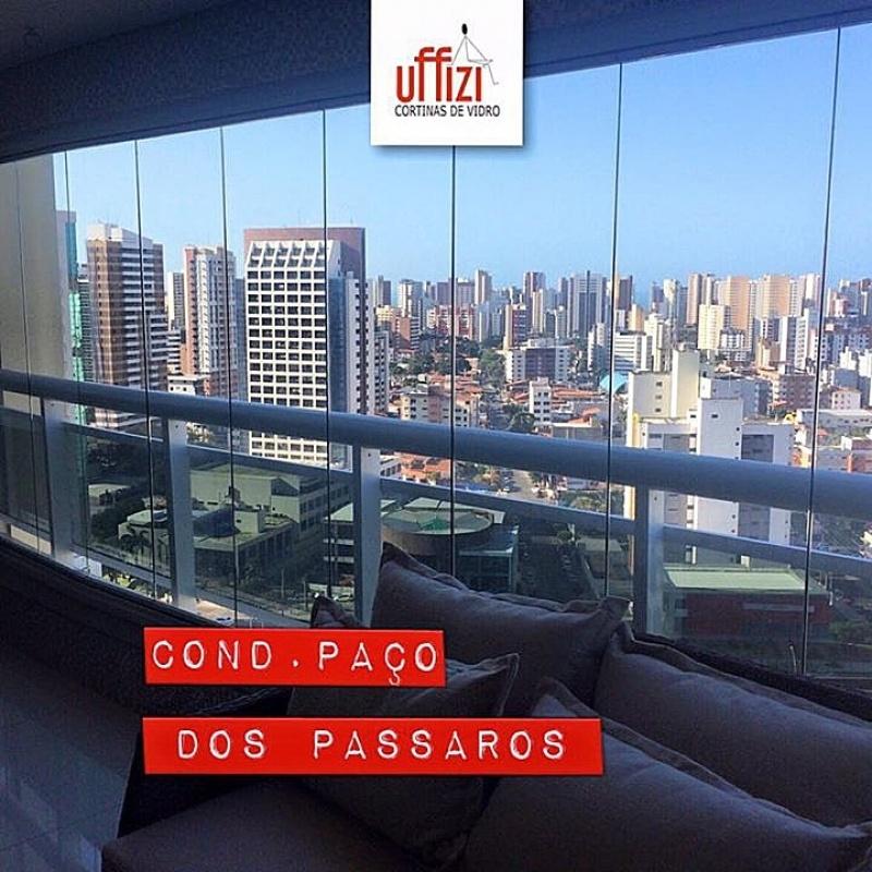Empresa de Sacada com Vidro de Correr Ceará - Varandas com Vidro Fume