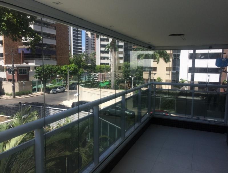 Envidraçamento de Sacada sob Medida Preço Ceará - Envidraçamento para Sacadas