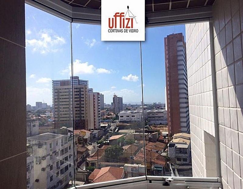 Envidraçamento de Varanda Automatizado Preço Ceará - Envidraçamento de Varandas Laminado