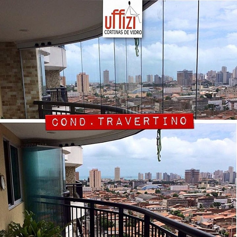 Envidraçamento de Varanda Automatizado Ceará - Envidraçamento para Varanda de Apartamento com Vidro