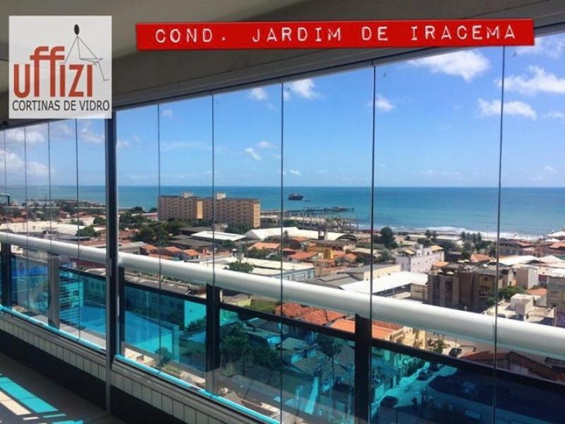 Envidraçamento de Varanda para Apartamento Ceará - Envidraçamento de Varandas Laminado