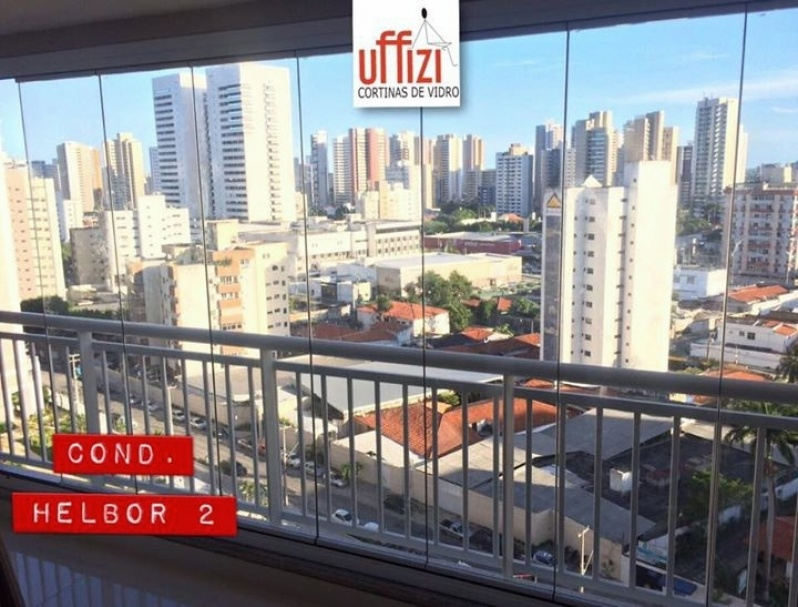 Envidraçamento para Sacada com Vidro Temperado Preço Ceará - Envidraçamento de Sacada sob Medida