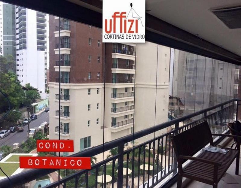 Envidraçamento para Sacada de Apartamento com Vidro Fortaleza - Envidraçamento de Sacada Automatizado