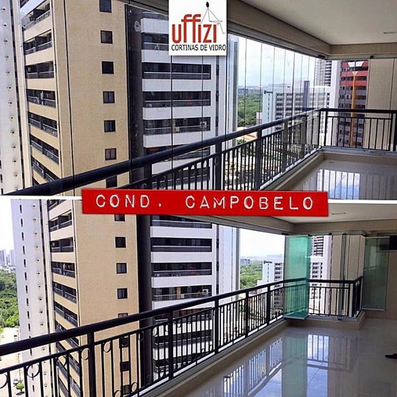 Envidraçamentos de Sacada Automatizado Ceará - Envidraçamento de Sacada para Apartamento