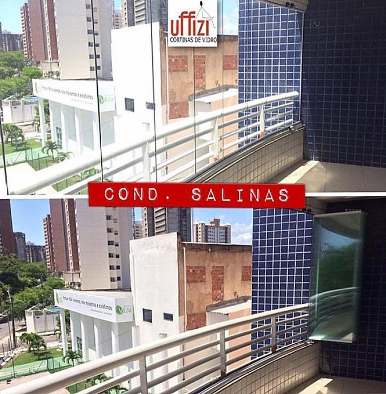Envidraçamentos de Sacada para Apartamento Fortaleza - Envidraçamento para Sacadas