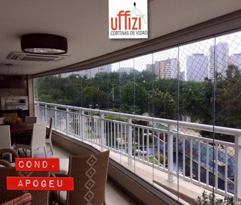 Envidraçamentos para Sacada de Apartamento com Vidro Fortaleza - Envidraçamento de Sacada sob Medida