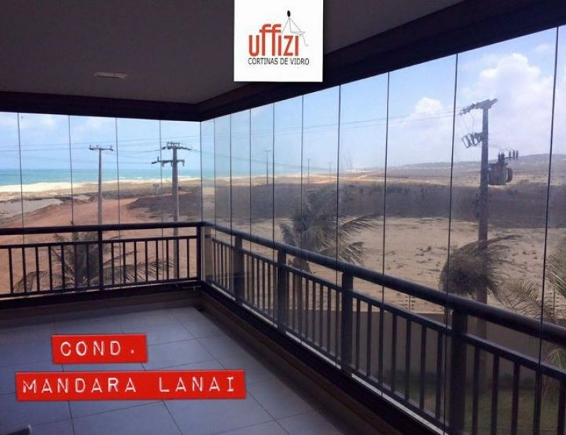 Fechamento de área de Serviço com Vidro Preço Ceará - Fechamento com Vidro