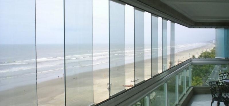 Fechamento de Varanda em Fortaleza - Varanda de Vidro Temperado