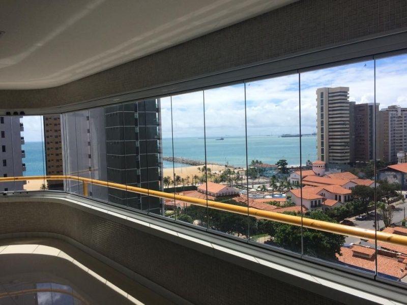 Fechamento para Varanda com Vidro Preço na Aquiraz - Varanda de Vidro Temperado
