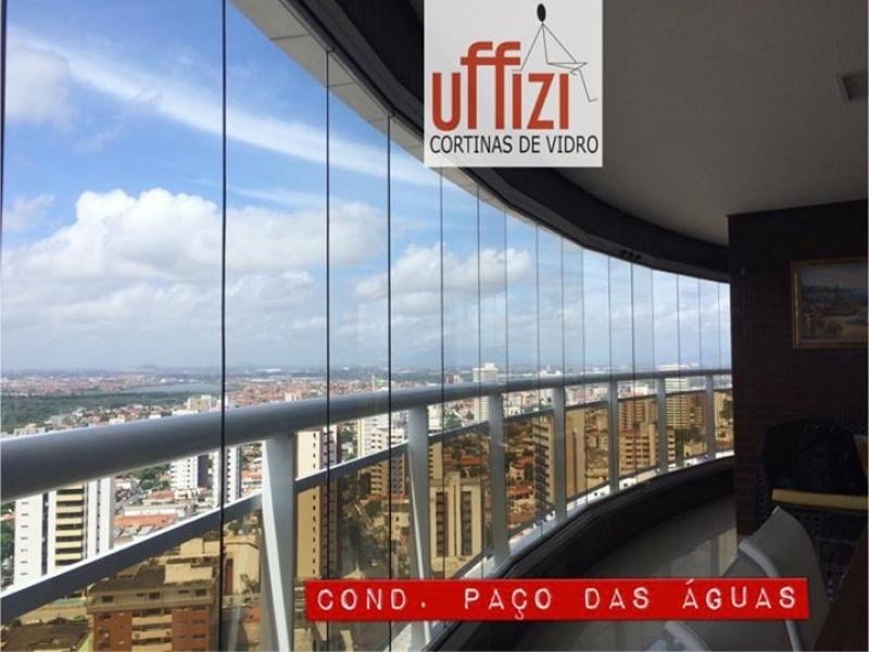 Instalação de Envidraçamento para Sacada de Apartamento com Vidro Aquiraz - Envidraçamento de Sacada sob Medida