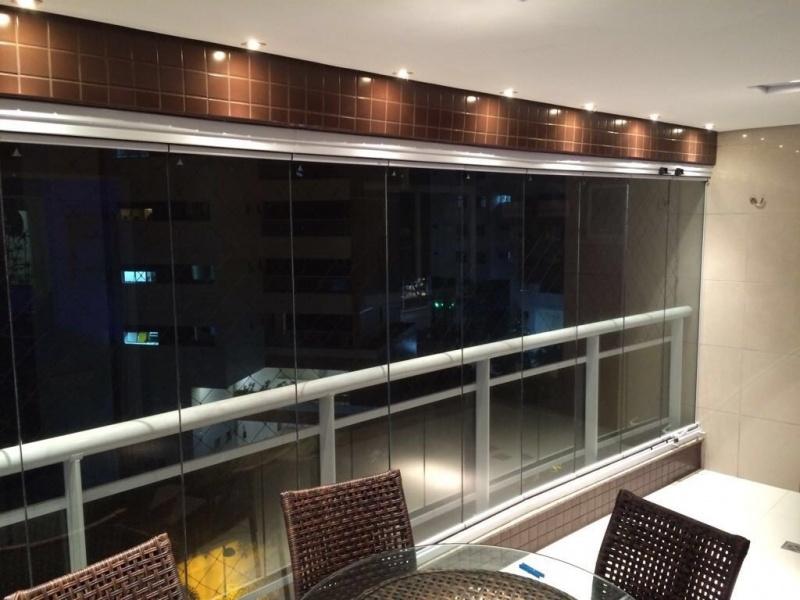 Quanto Custa Cortina de Vidro Deslizante Automática Fortaleza - Cortinas de Vidro Deslizante para Varanda