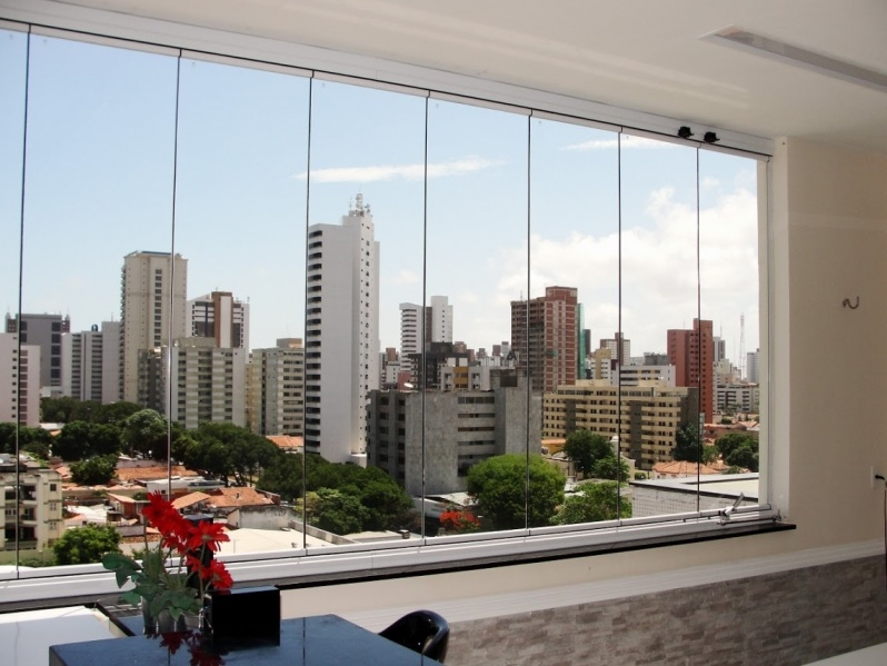 Quanto Custa Cortina de Vidro em Varanda Fortaleza - Cortina de Vidro com água