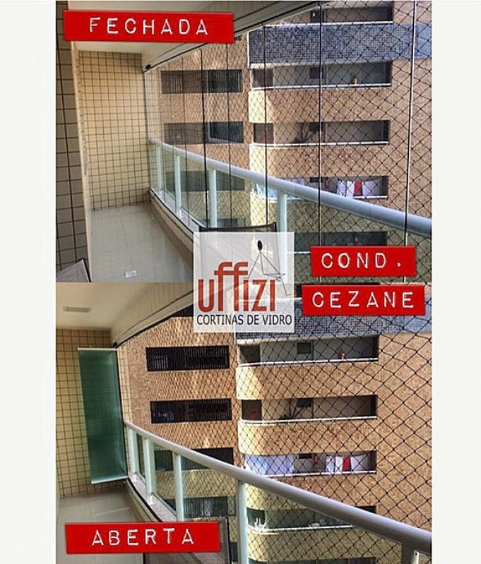 Quanto Custa Cortina de Vidro Instalação Fortaleza - Cortina em Vidro