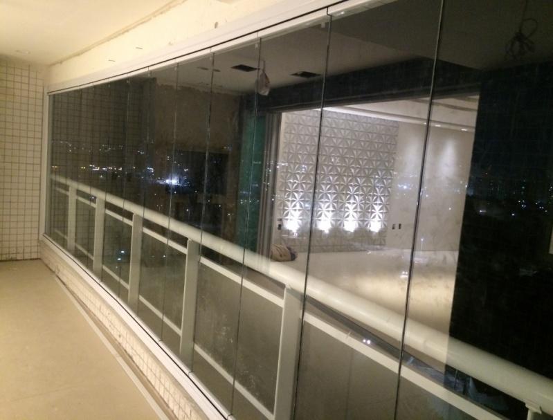 Quanto Custa Cortina em Vidro Deslizante para Apartamento Ceará - Cortina de Vidro Deslizante Automática