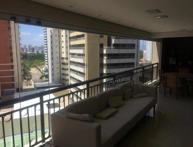 Quanto Custa Envidraçamento de Varanda para Apartamento Caucaia - Envidraçamento para Varanda de Apartamento com Vidro